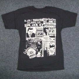 JOHNNY CASH / NEWSPAPER / T-Shirts Tシャツ ジョニー・キャッシュ