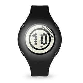 Nooka - Yogurt Watch (Blackberry) by Matthew Waldman and Karim Rashid
