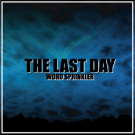 WORD SPRINKLER from G-CREW - THE LAST DAY