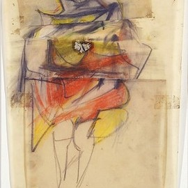 WILLEM DE KOONING - Study for Marilyn Monroe
