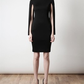 GIVENCHY - Techno-satin dress