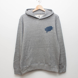 cup and cone - Pullover Hoodie - Grey