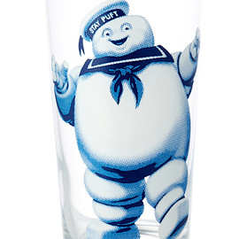 "MEDICOM TOY - TUMBLER GLASS ""STAY PUFT"""