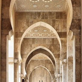 Morocco. - Mosque in Casablanca
