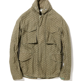 nonnative - TROOPER JACKET COTTON RIPSTOP BY LIBERTY OVERDYED