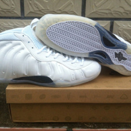 White Summit White Nike Air Foamposite One Basketball Shoes Men's 1