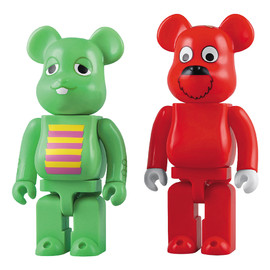 MEDICOM TOY - BE@RBRICK 400% ガチャピン&ムック 2PACK