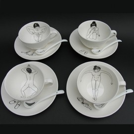 Pols Potten - Bathing Girls Tea Set