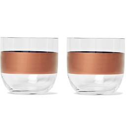 Tom Dixon - Tank Set of Two Painted Whisky Glasses