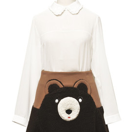 vivetta - Bear skirt wool