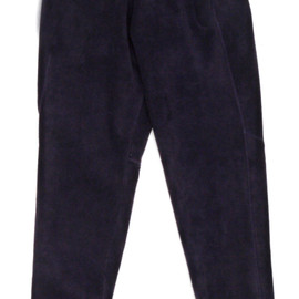 WHANGAREI - Peg Top String Pant-Velour Polor