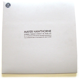 Mayer Hawthorne - Mayer Hawthorne & The County Direct To Disc