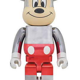 MEDICOM TOY - BE@RBRICK fragmentdesign MICKEY MOUSE COLOR Ver.1000%