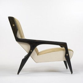 GIO PONTI - armchair from the Hotel Parco dei Principi, Rome  Cassina