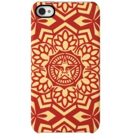 OBEY - Incase Shepard Fairey Snap Case for iPhone 4 and 4S - Yen Pattern Red