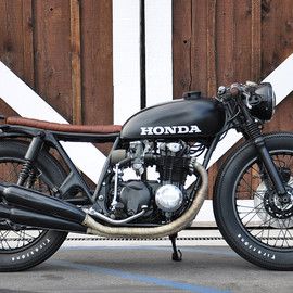 Seaweed & Gravel - HONDA CB550 build by Brady Young