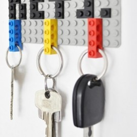 DIY Lego Key Holder