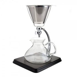Yama glass - Silverton Coffee/Tea Dripper with Stainless Cone Filter