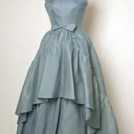 Balenciaga - blue dress 1960