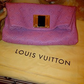 LOUIS VUITTON - Handbags/pink