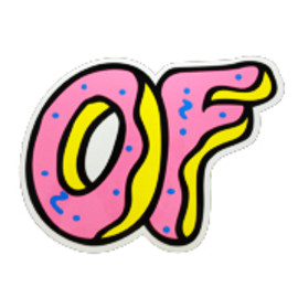 Odd Future - OF DONUT 12 STICKER