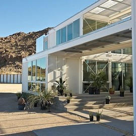 Ecothech Design - Sipping Countainer House, Mojave Desert