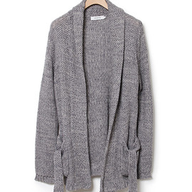 nonnative - ROAMER KNIT GOWN - C/L MIX WOVEN