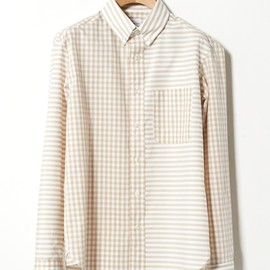marka - STRIPE×GINGHAM CHECK