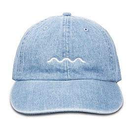 The Good Company - Chill Wave Dad Hat (jean)