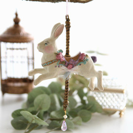 kino - Carousel Rabbit Ornament