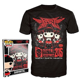 BABYMETAL - Rock Poster Pop T-shirt