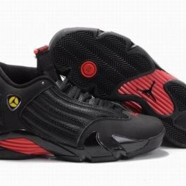 Nike Air Jordan 14 Retro Black/Red Men's