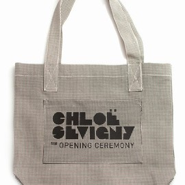 Chloe Sevigny for Opening Ceremony   - large logo tote
