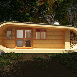 Studio Blue Fores - Wooden house Eco Perch