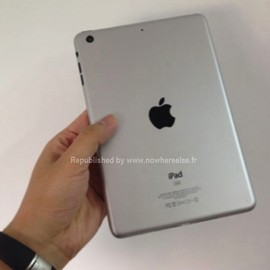 apple - iPad Mini (?!) - Silver
