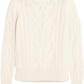 Isabel Marant - Gayle cable-knit alpaca-blend sweater