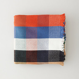 Khadi & Co - MULTI PLAID BLANKET