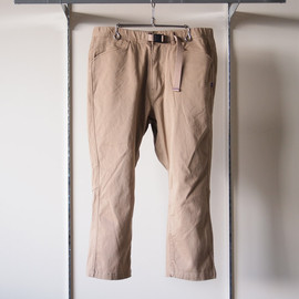 THE NORTH FACE PURPLE LABEL - 4/5 Stretch Climbing Pants #tan