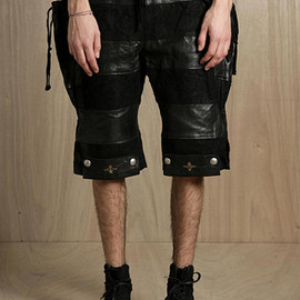 blackmeans - Sheep Leather Shorts