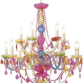 Lampa Gioiello Crystal Rainbow 14-arms