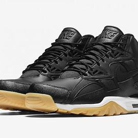 NIKE - Air Trainer SC High - Black/White/Gum Yellow
