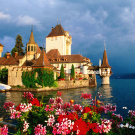 Switzerland - Oberhofen Castle, Lake Thun
