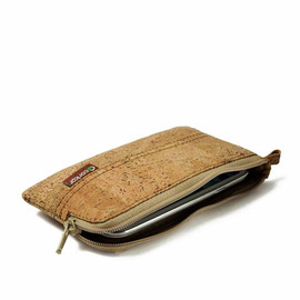 Corkor - iPhone 4 / 4S / 5 / 5S / 5C Cork Wristlet Wallet, Vegan Gift Idea