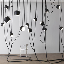 Ronan & Erwan Bouroullec - Lianes Roches Conques, Lamps, Galerie Kreo, Paris