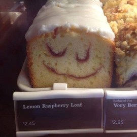 the happiest cake in London