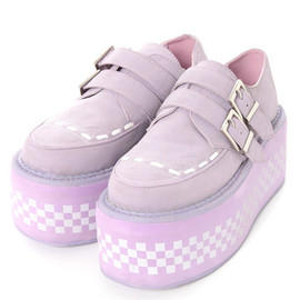 Candy Stripper - CHECKERD FLAG HIGH SOLE