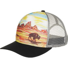 Art 4 All - High Pro Trucker Full Bleed Mesh Snapback Hat - Totanka