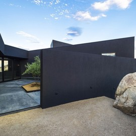 Oller & Pejic Architecture - Black Desert House, Joshua Tree National Park, California