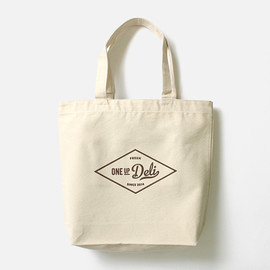 ONE UP DELI - Market Tote ロゴトートバッグ