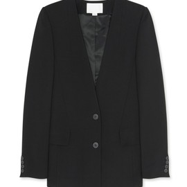 ALEXANDER WANG - Oversized collarless blazer